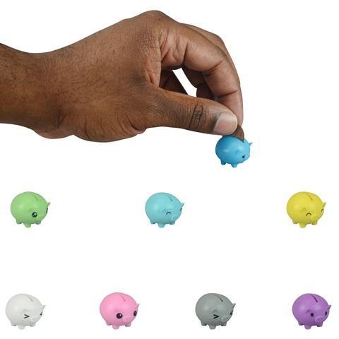 不怕存不满了…世界最迷你小猪扑满 一只只能「存1枚硬币」